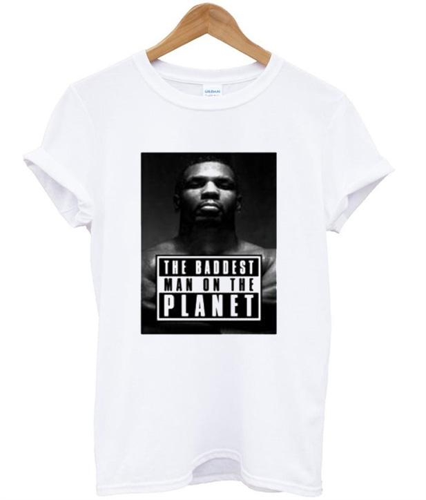Mike Tyson Baddest Man T-Shirt