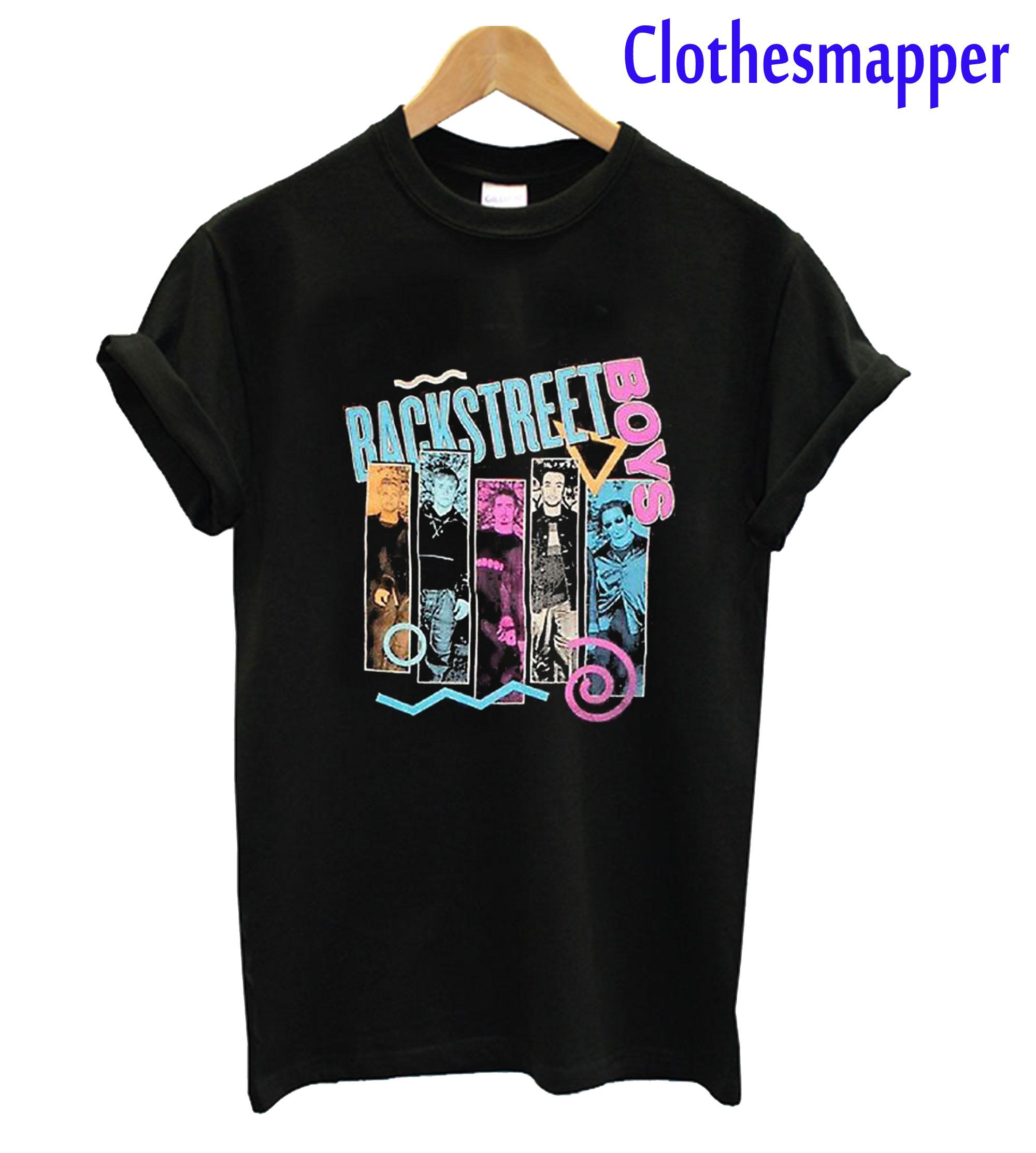 Backstreet Boys 90s Bar T-Shirt