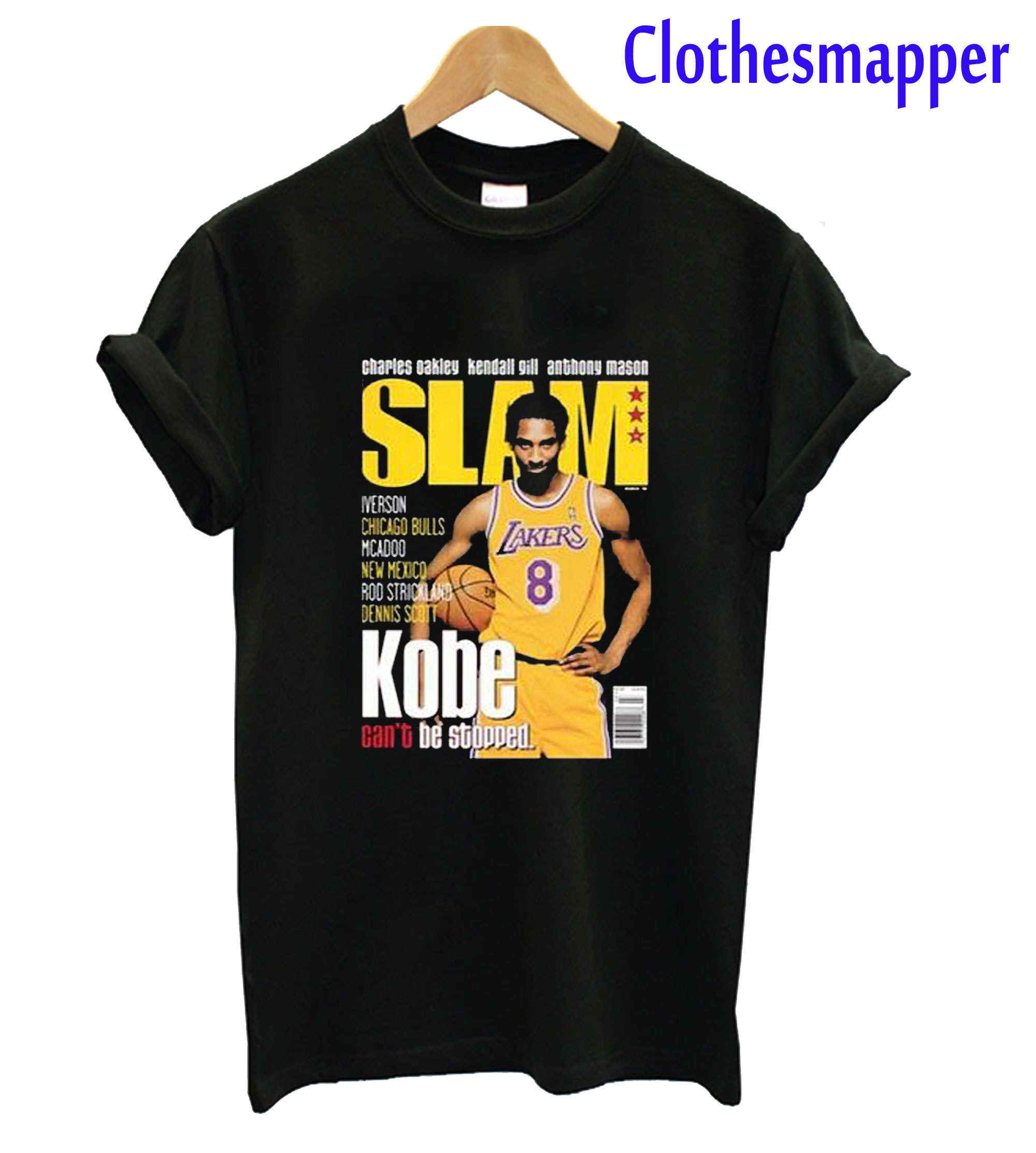 Kobe Bryant Slam Cover T-Shirt